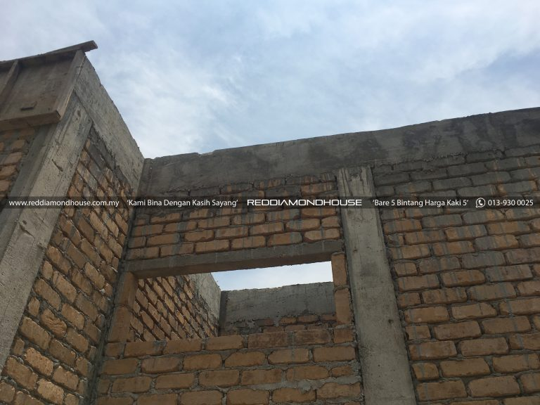 Bina Rumah Atas Tanah Sendiri Roof Beam 03