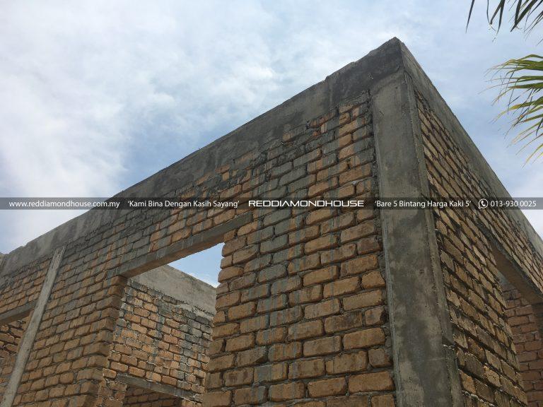 Bina Rumah Atas Tanah Sendiri Roof Beam 04