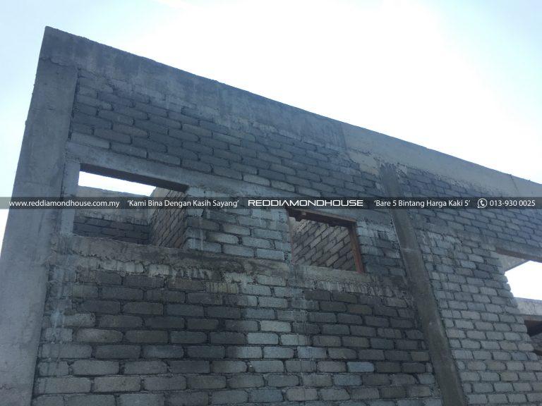 Bina Rumah Atas Tanah Sendiri Roof Beam 22