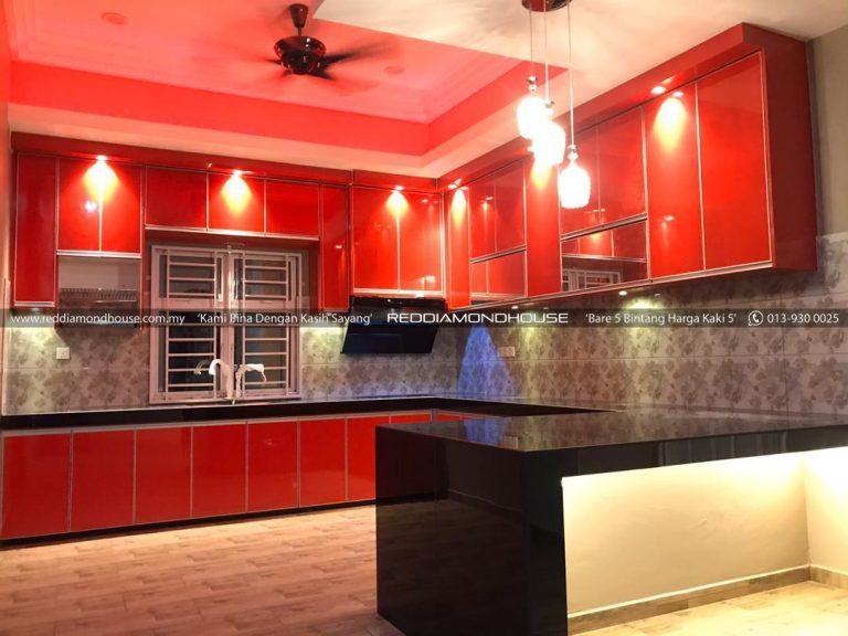 Bina Rumah Atas Tanah Sendiri Ruang Dapur 15