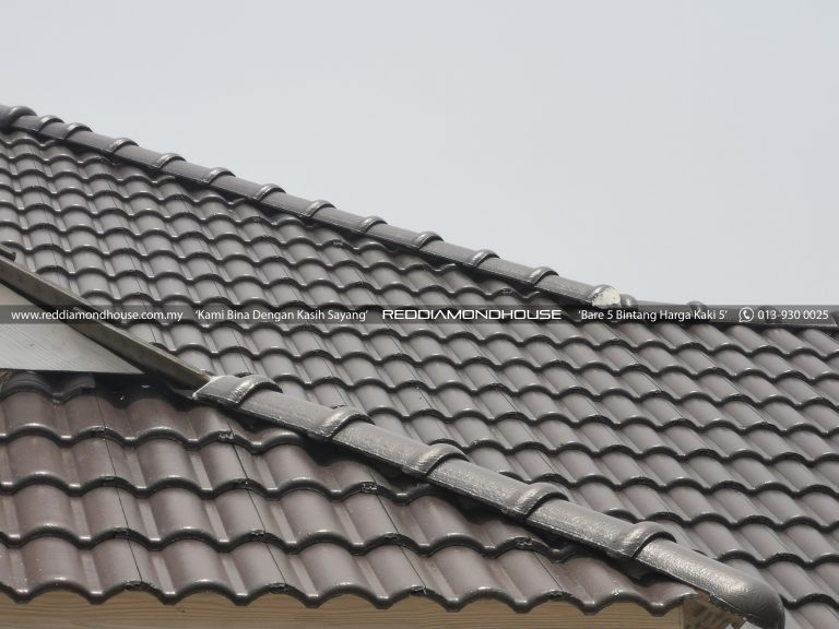 Bina Rumah Atas Tanah Sendiri Bumbung 04