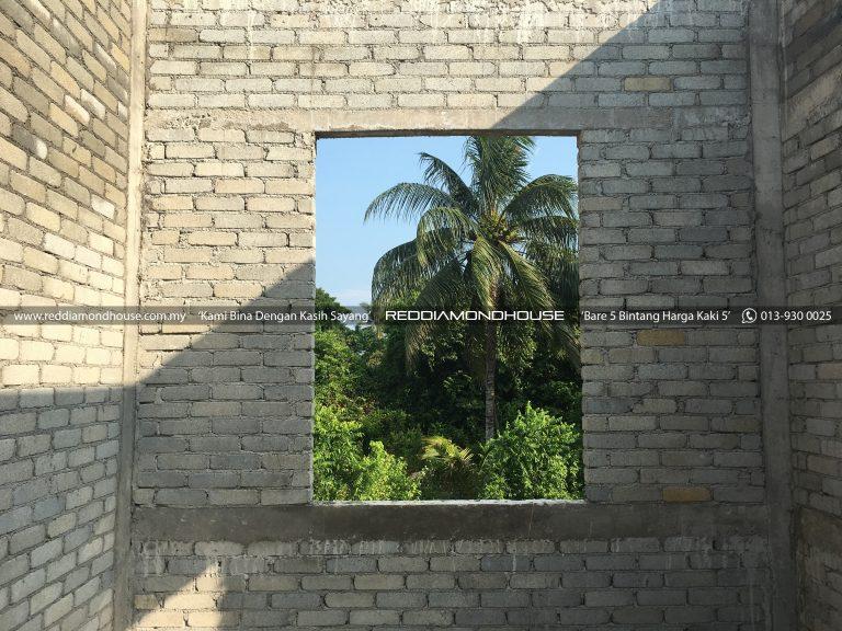 Bina Rumah Atas Tanah Sendiri Lintol 06