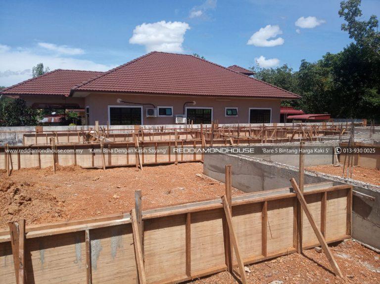 Bina Rumah Atas Sendiri Ground Beam 15