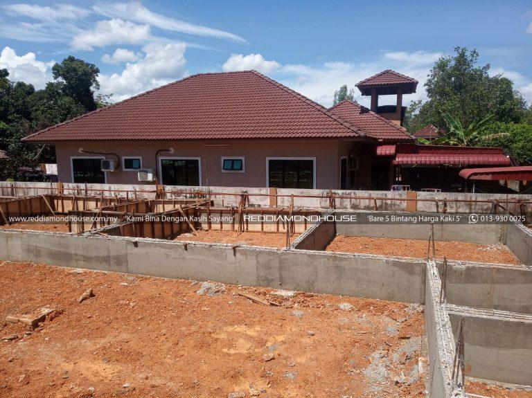 Bina Rumah Atas Sendiri Ground Beam 21