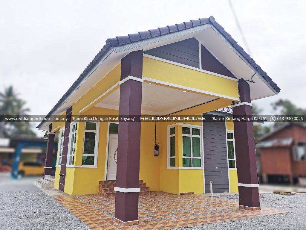 Bina Rumah Atas Tanah Sendiri Panji Exterior 02