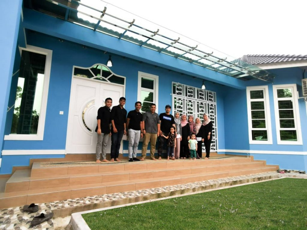 Bina Rumah Atas Tanah Sendiri Reddiamondhouse