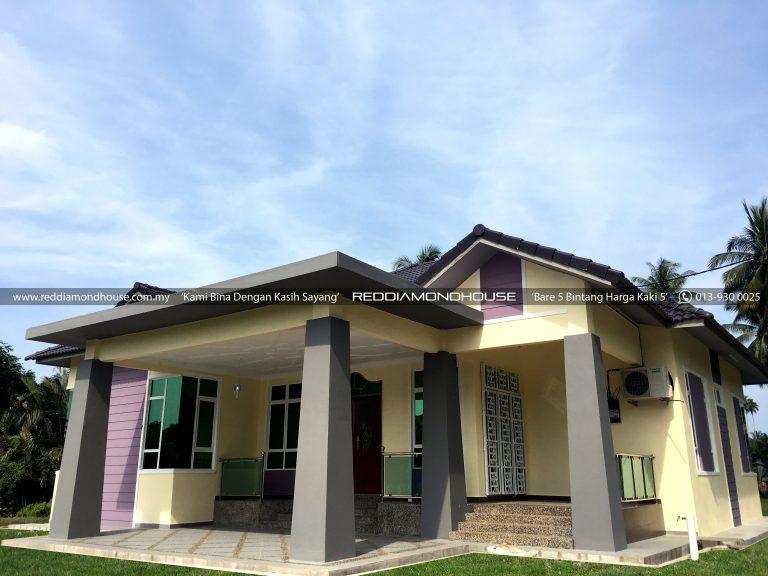Bina Rumah Atas Tanah Sendiri Pulau Pisang