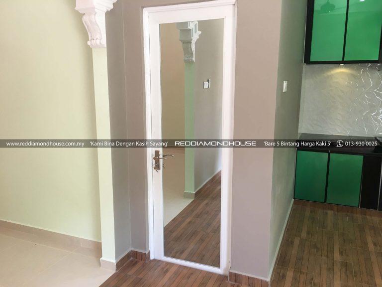 Bina Rumah Atas Tanah Sendiri 17001 Pintu 01