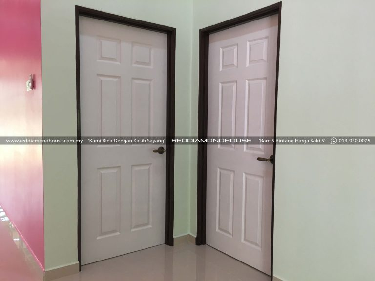 Bina Rumah Atas Tanah Sendiri 17001 Pintu 02