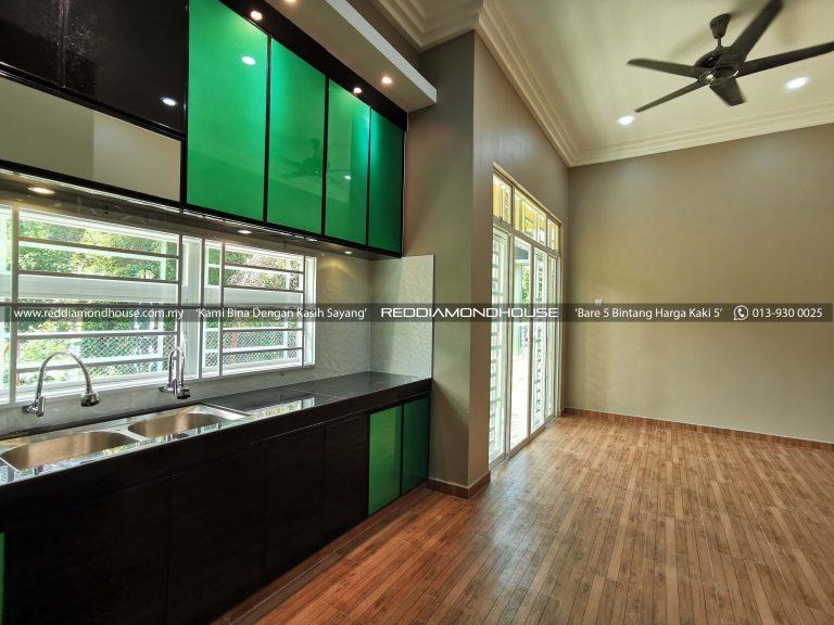 Bina Rumah Atas Tanah Sendiri 17001 Ruangan Dapur 08