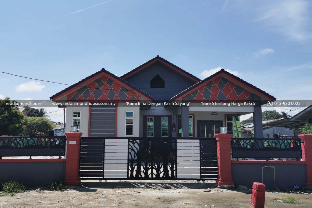 Bina Rumah Atas Tanah Sendiri Lundang 04