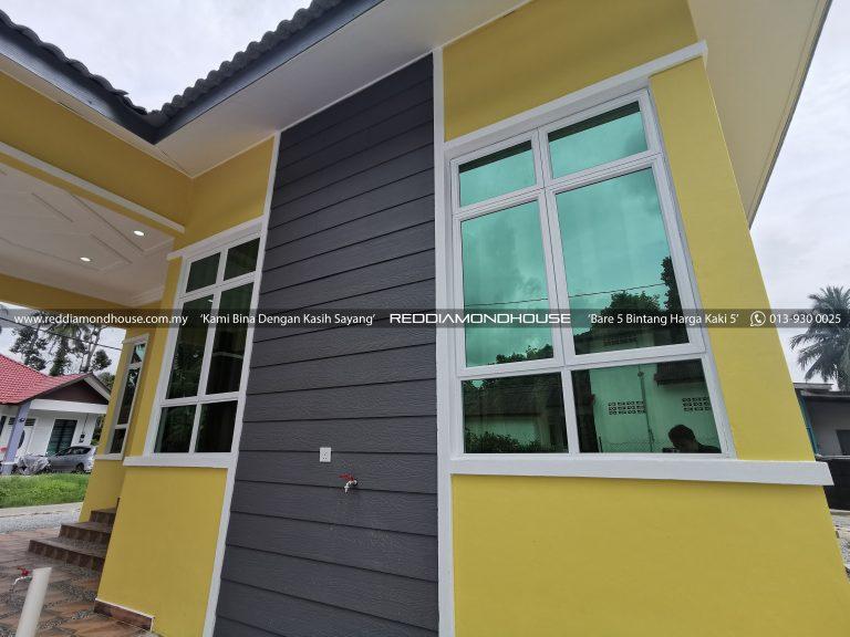 Bina Rumah Atas Tanah Sendiri Panji Exterior 06