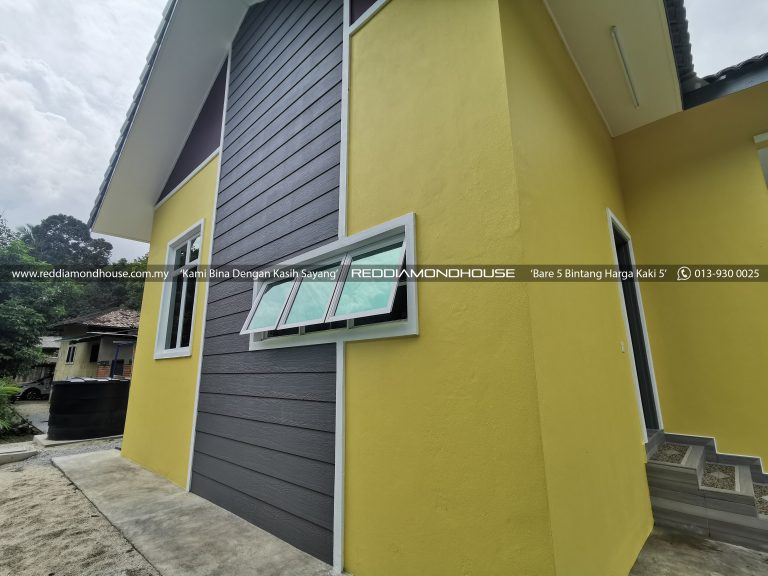 Bina Rumah Atas Tanah Sendiri Panji Exterior 12