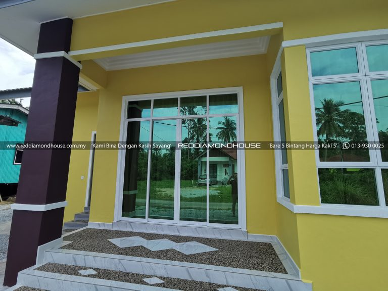 Bina Rumah Atas Tanah Sendiri Panji Pintu 06