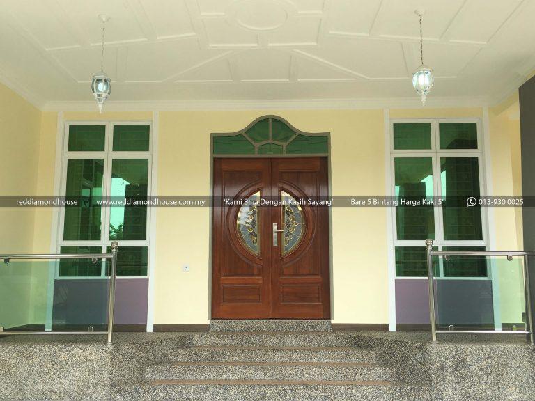 Bina Rumah Atas Tanah Sendiri Pulau Pisang 01