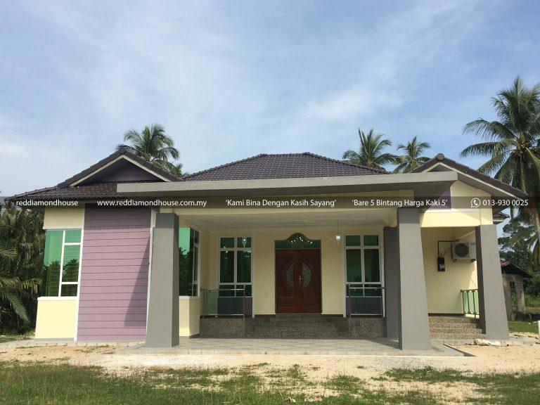 Bina Rumah Atas Tanah Sendiri Pulau Pisang 02