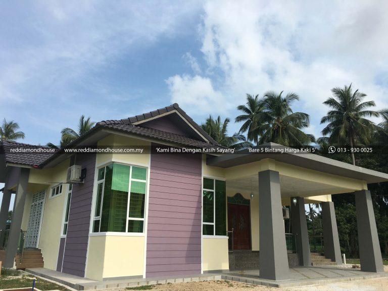 Bina Rumah Atas Tanah Sendiri Pulau Pisang 04