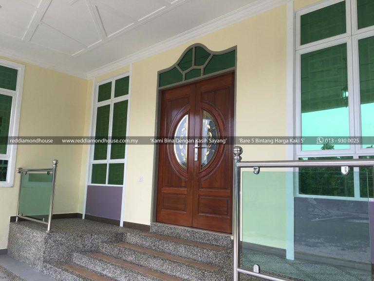 Bina Rumah Atas Tanah Sendiri Pulau Pisang 07