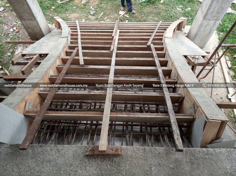 Bina Rumah Atas Sendiri Struktur Tangga 03