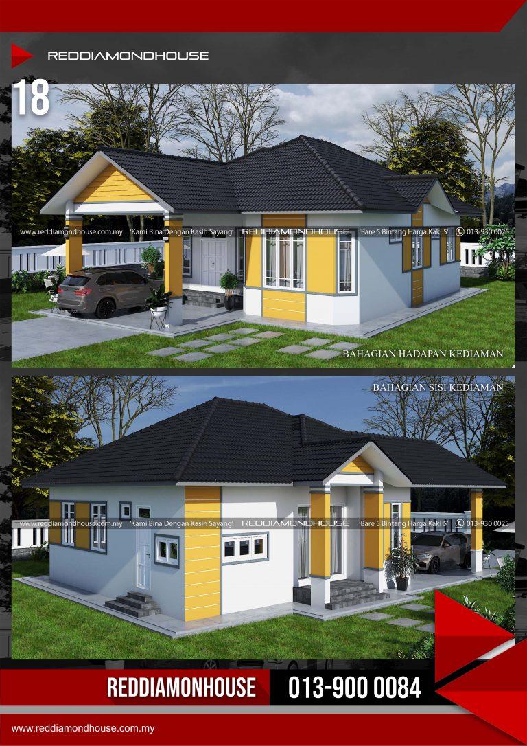 Bina Rumah Atas Tanah Sendiri RDHAZM.18.02-20.1548 Porfolio 03