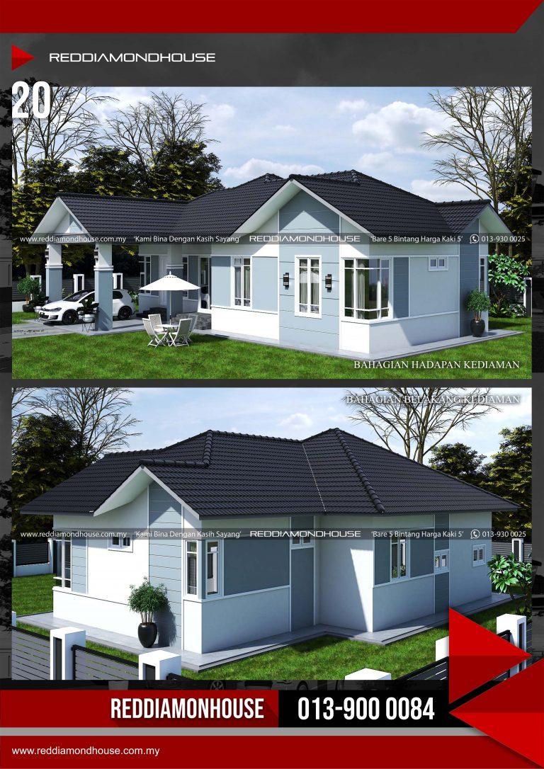 Bina Rumah Atas Tanah Sendiri RDHAZM.20.02-20.1848 Porfolio 03