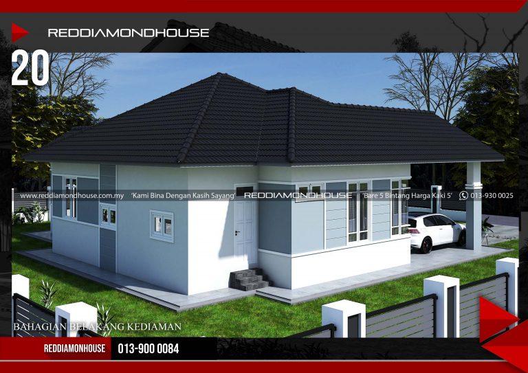 Bina Rumah Atas Tanah Sendiri RDHAZM.20.02-20.1848 Porfolio 04