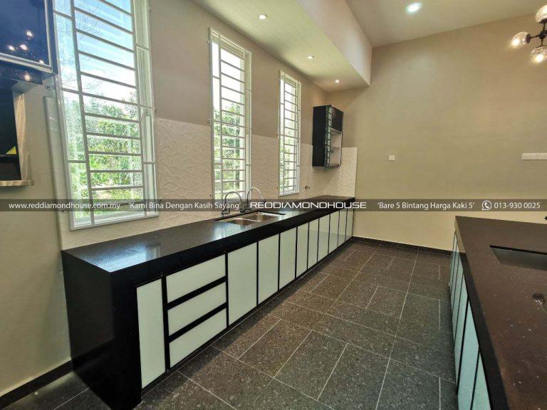 Bina Rumah Atas Tanah Sendiri Panyit Dapur 12