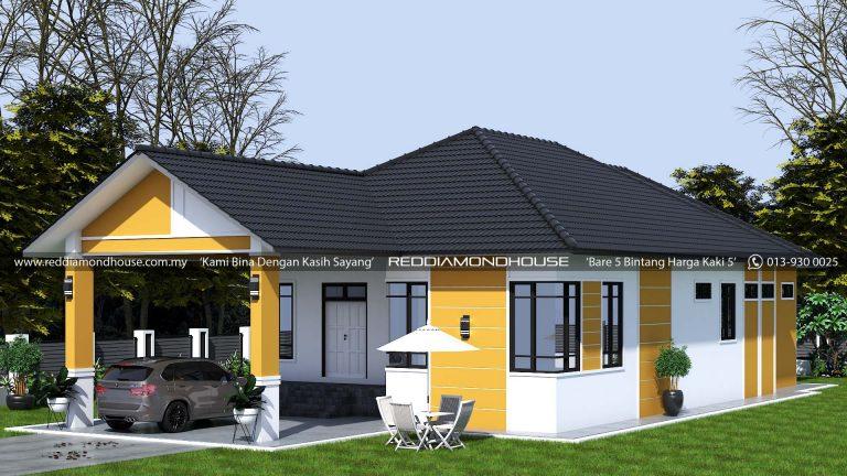 Bina Rumah Atas Tanah Sendiri RDHAZM.21.03-20.2502 3D01