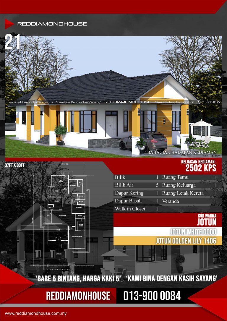 Bina Rumah Atas Tanah Sendiri RDHAZM.21.03-20.2502 Porfolio 02