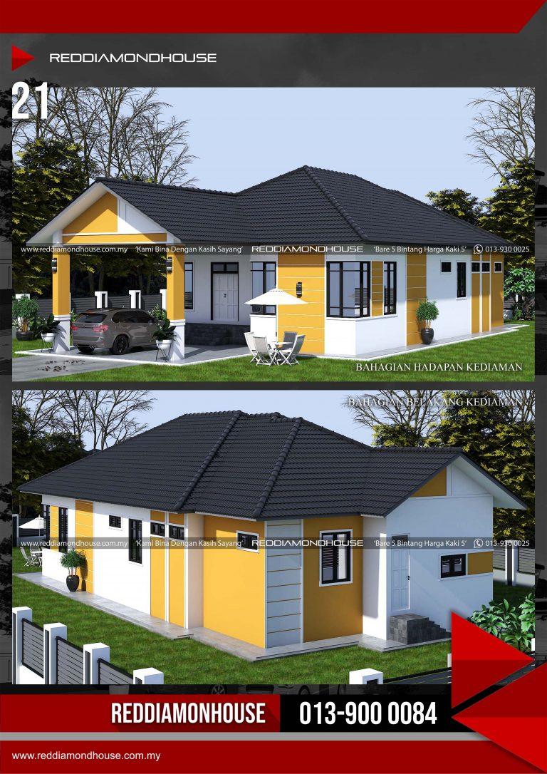 Bina Rumah Atas Tanah Sendiri RDHAZM.21.03-20.2502 Porfolio 03